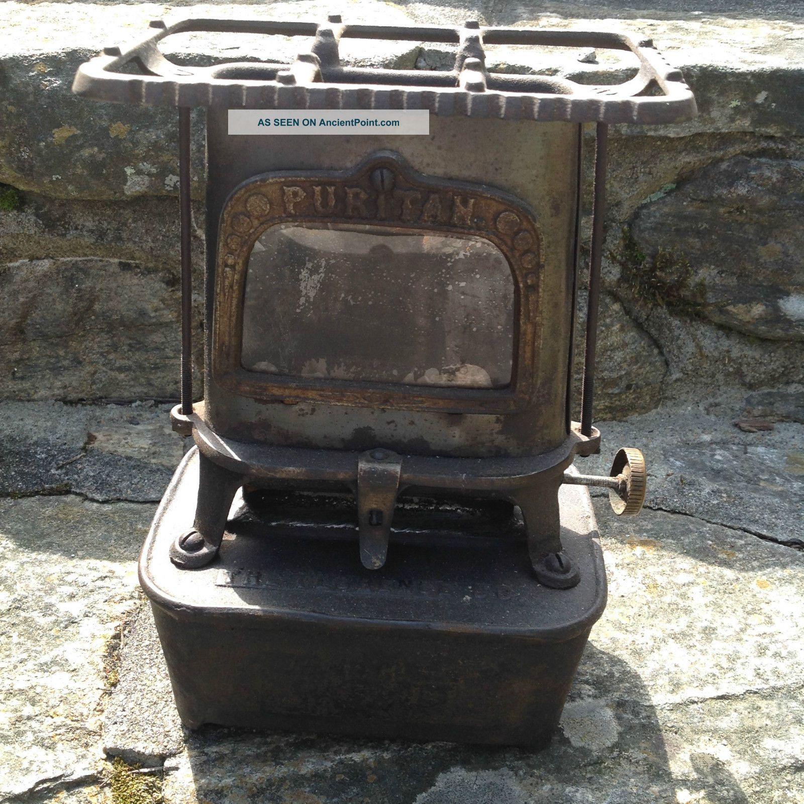 Antique Florence Cast Iron Kerosene Heater - - Florence Mass. Stoves photo