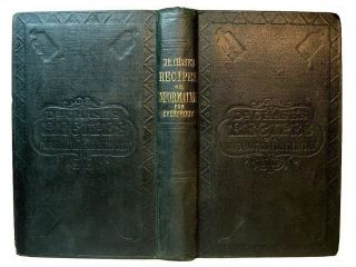 Civil War Antique Cookbook Farm Home Recipes Herbal Medical Cures Pioneer Beer photo