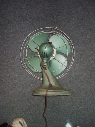 Vintage Cool Spot Electric Tabletop Fan By Signal photo
