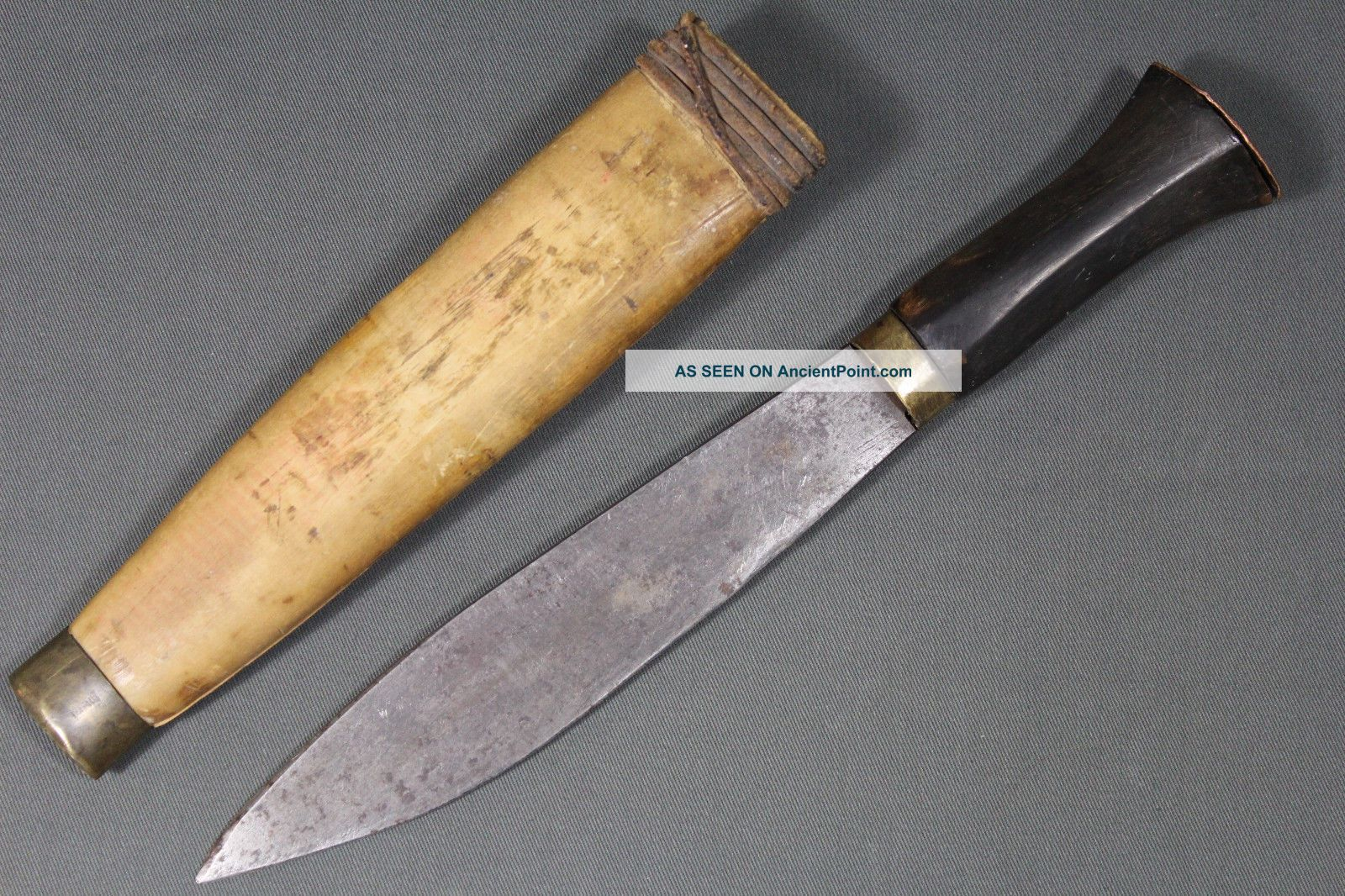 Antique Malagasy Knife - Madagascar Mid 20th Other African Antiques photo