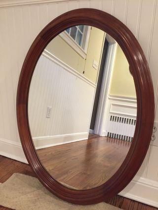 Leopold Stickley Oval Mirror 1962 photo