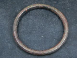 Ancient Bronze Bracelet Islamic 1300 Ad Br2074 photo