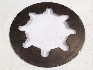 6 Inch Gear Industrial Steampunk Repurpose Steel Sprocket Vintage Pulley Rust photo