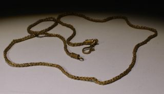 Stunning Ancient Roman Gold Necklace,  Chain - Circa 2nd - 3rd Century Ad photo