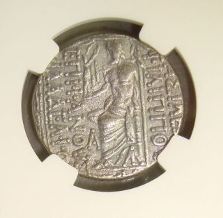 95 - 75 Bc Philip I Seleucid Kingdom Ancient Greek Silver Tetradrachm Ngc Xf photo