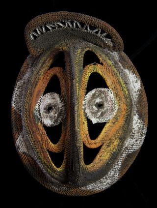 Guinea Abelam Baba Mask photo