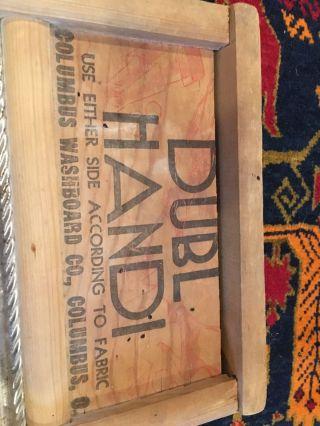 Dubl Handi Columbus Washboard Co.  18