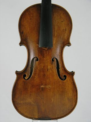 Interesting Old Antique Violin Italian Label G.  Antonio Marchi Bologna 1776 photo
