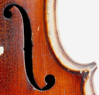 Fine Antique German Violin C.  1870, photo