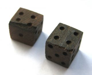 Circa.  100 - 300 A.  D Roman Period Bone Astralagos - Dice Pair photo