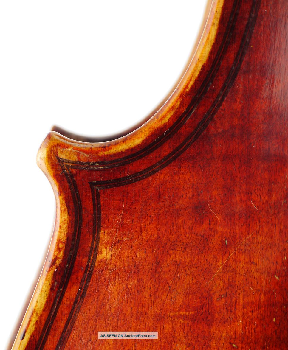 Fine,  Antique Giuseppe Zanetti 4/4 Old Italian Master Violin - Geige,  Fiddle 小提琴 String photo