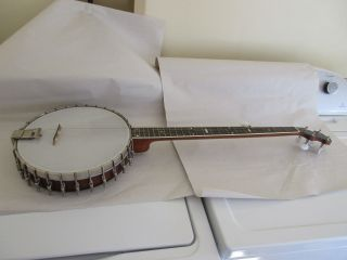 Vega Imperial Electric Banjo Boston Mass.  38