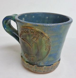 Beatrice Wood Inspired Pottery Mug photo