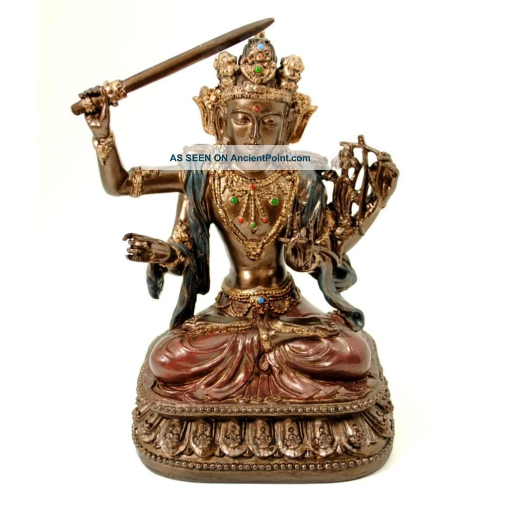 Manjushri Statue 5.  25
