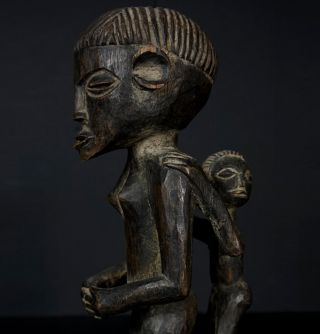 Luvale / Luena Fertility Figure - Zambia - Mother And Child - Maternity -  photo