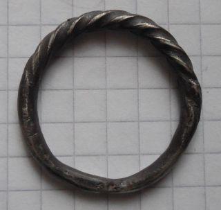 Viking Period Big Size Silver Ring photo