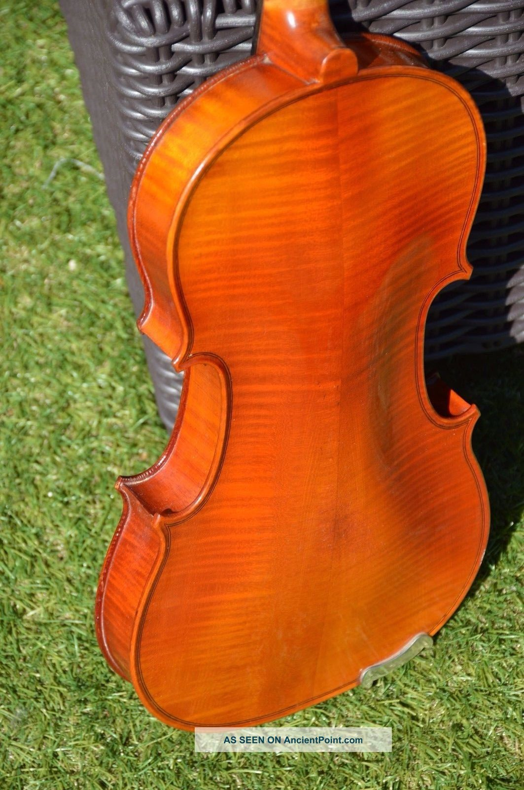 Old French Violin Mirecourt 4/4 String photo