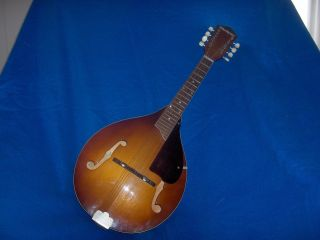 Vintage Harmony Mandolin Org.  Case.  Gibson String Made In U.  S.  A photo