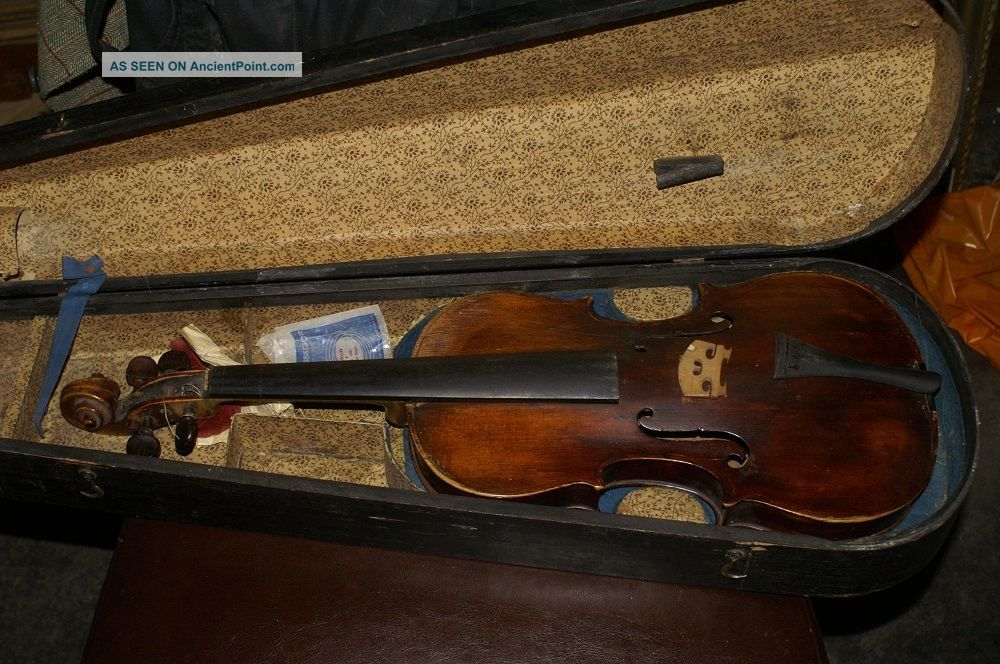 Very Old Antique Violin Thomas Balestirieri 1760 String photo