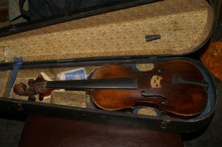 Very Old Antique Violin Thomas Balestirieri 1760 photo