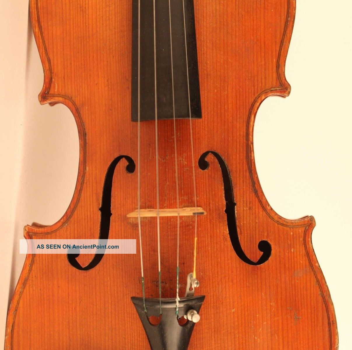 Old Italian Violin Lab.  Sacconi 1925 Geige Violon Violino Violine Viola Viool String photo
