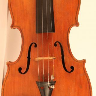 Old Italian Violin Lab.  Sacconi 1925 Geige Violon Violino Violine Viola Viool photo