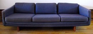 Mid Century Adrian Pearsall Style 7 1/2 Ft Sofa By Armstrong Modern photo