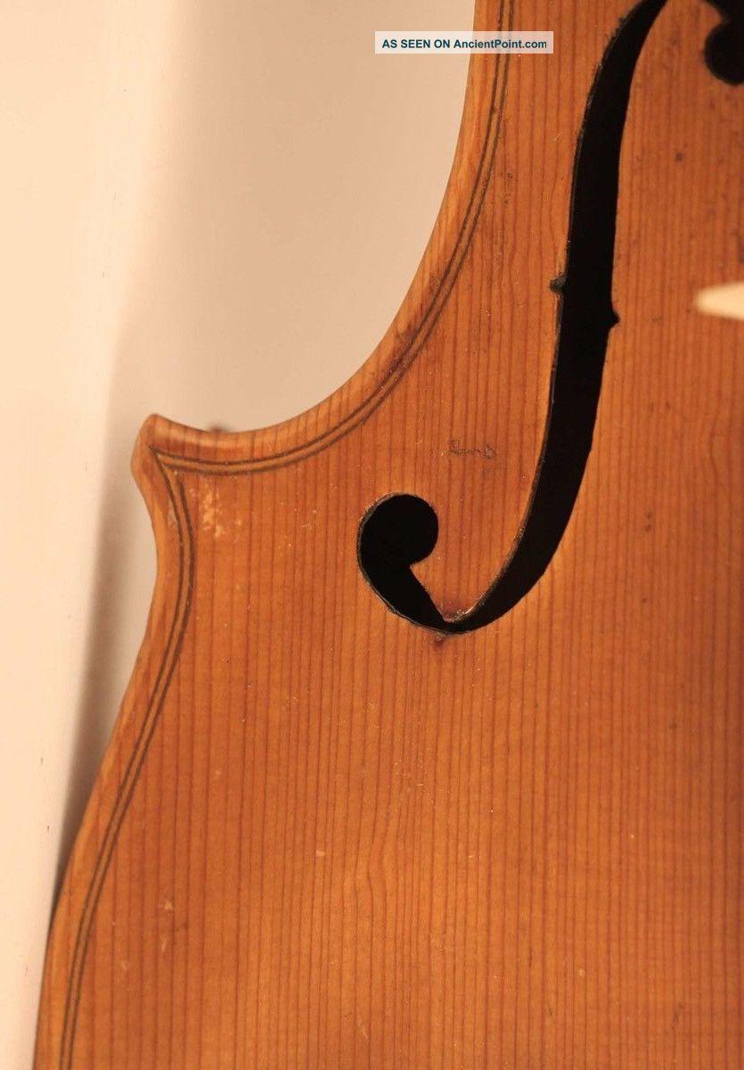 Old Italian Violin Geige Violino F.  Gagliano 1758 小提琴 Cello Violon バイオリン 바이올린 String photo