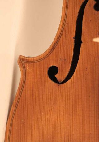 Old Italian Violin Geige Violino F.  Gagliano 1758 小提琴 Cello Violon バイオリン 바이올린 photo