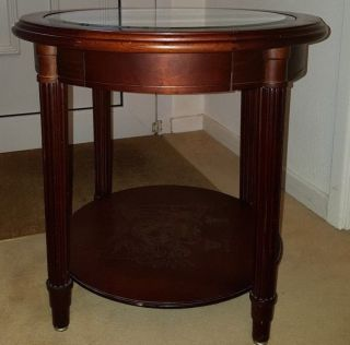 The Trafalgar Side Table By Danbury (2007) photo