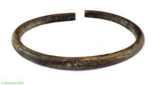 Yoruba Brass Currency Bracelet Handmade Nigeria Africa photo
