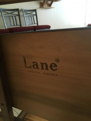 Lane Mid - Century Modern Full Size Bed Frame (1966) photo