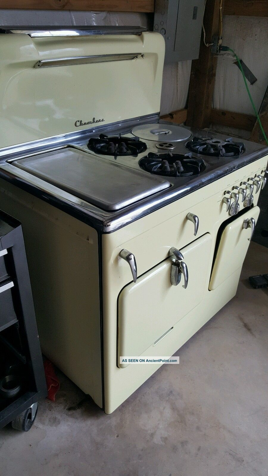 Vintage Chambers 90c Gas Stove Stoves photo