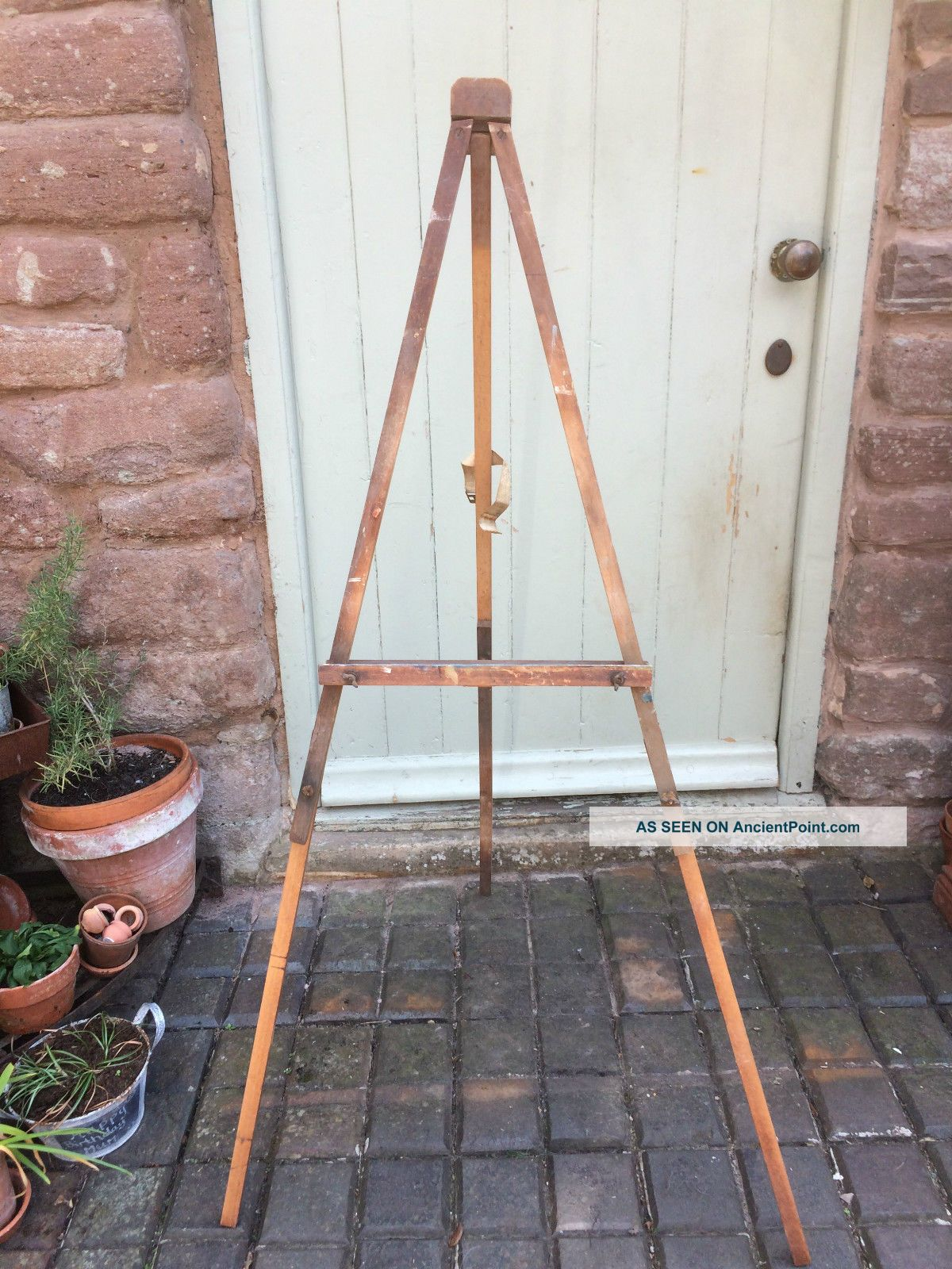 Vintage Wooden Easel Stands photo