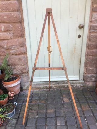 Vintage Wooden Easel photo