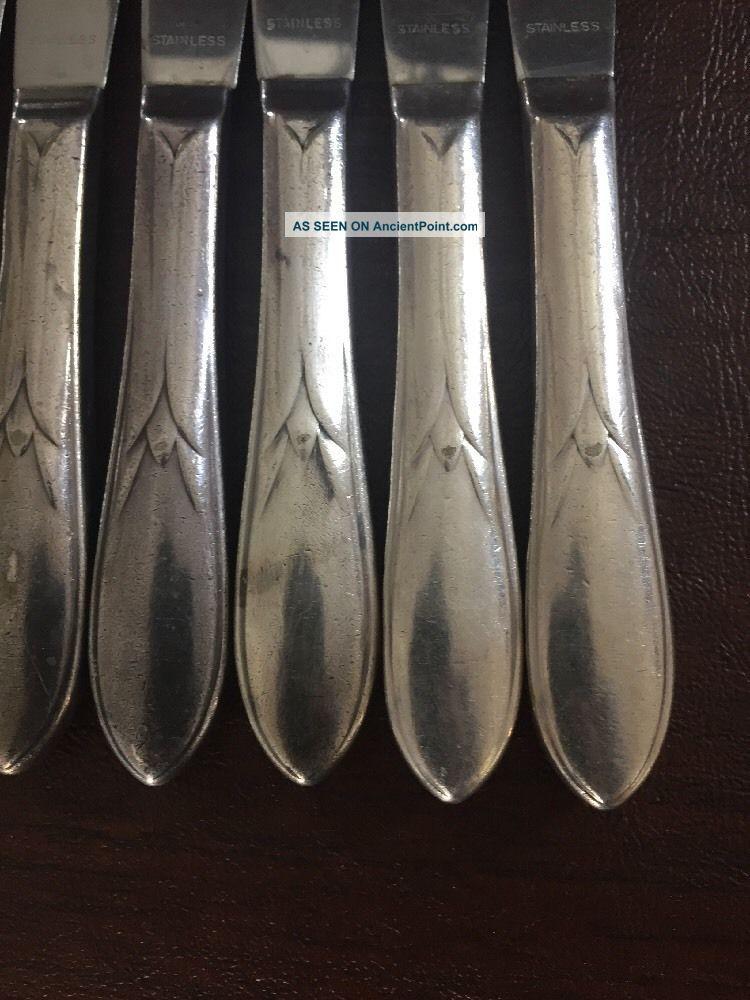 Vintage 1938 International Silver Wm Rogers Pickwick Silverplate Flatware 31 Pc Flatware & Silverware photo