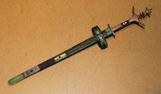 S.  Algeria Old African Knife Ancien Couteau D ' Afrique Tuareg Afrika Africa Telek photo