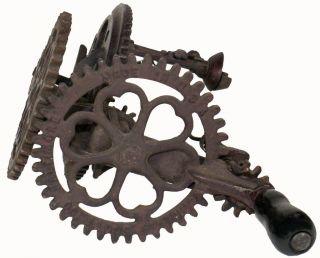 Antique 1890 ' S Sinclair Scott Co.  Ornate Cast Iron 9