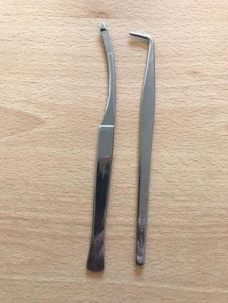 Vintage Surgical Instruments X2 Dakin Bros Ltd London photo