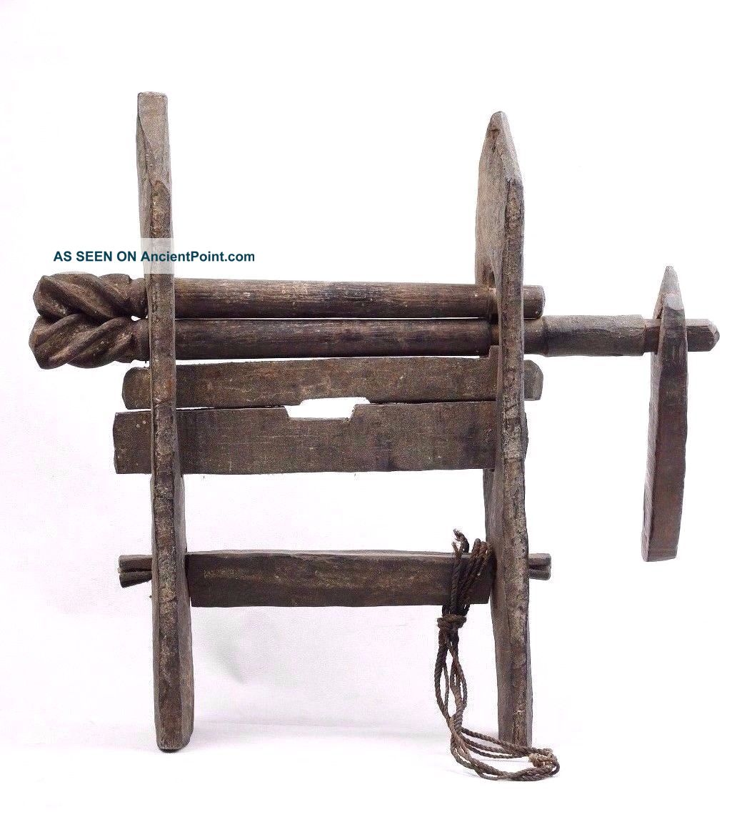 Cotton Mangle/gin - West Timor - Tribal Artifact Pacific Islands & Oceania photo