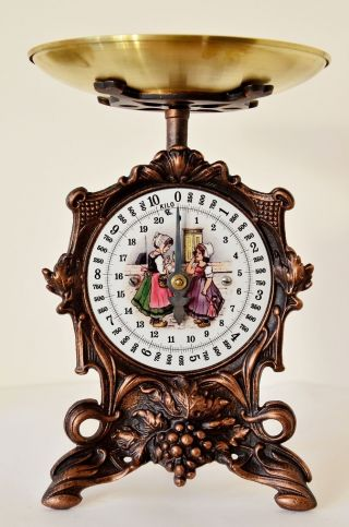 Antique,  Shabby Chic,  Vintage,  Rustic Style,  Old German Kitchen Scale - Girls photo