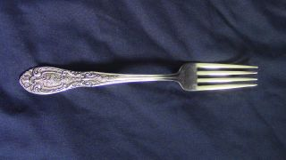 Easterling Southern Grandeur Sterling Silver Dinner Fork - 7 1/4