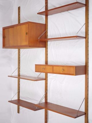 Modern Danish Design - Teak Wall - Unit System - Wegner Era photo