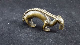 Ashanti Brass Gold Dust Weight,