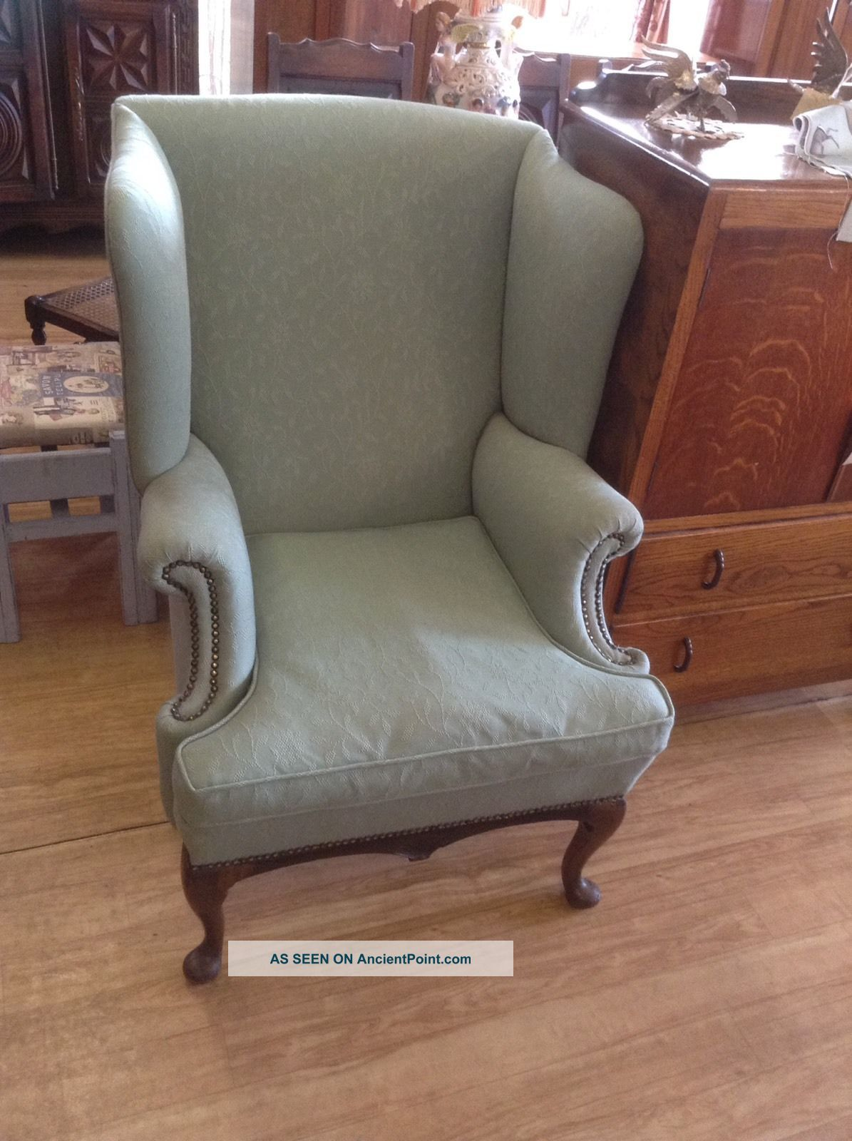 Wingback Chair Armchair 1900-1950 photo