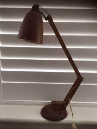 Vintage Anglepoise Desk Lamp Unrestored Untouched Circa 1950s / 60s photo