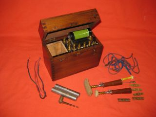 Rare Small Antique Therapy Medical Electric Shock Machine photo