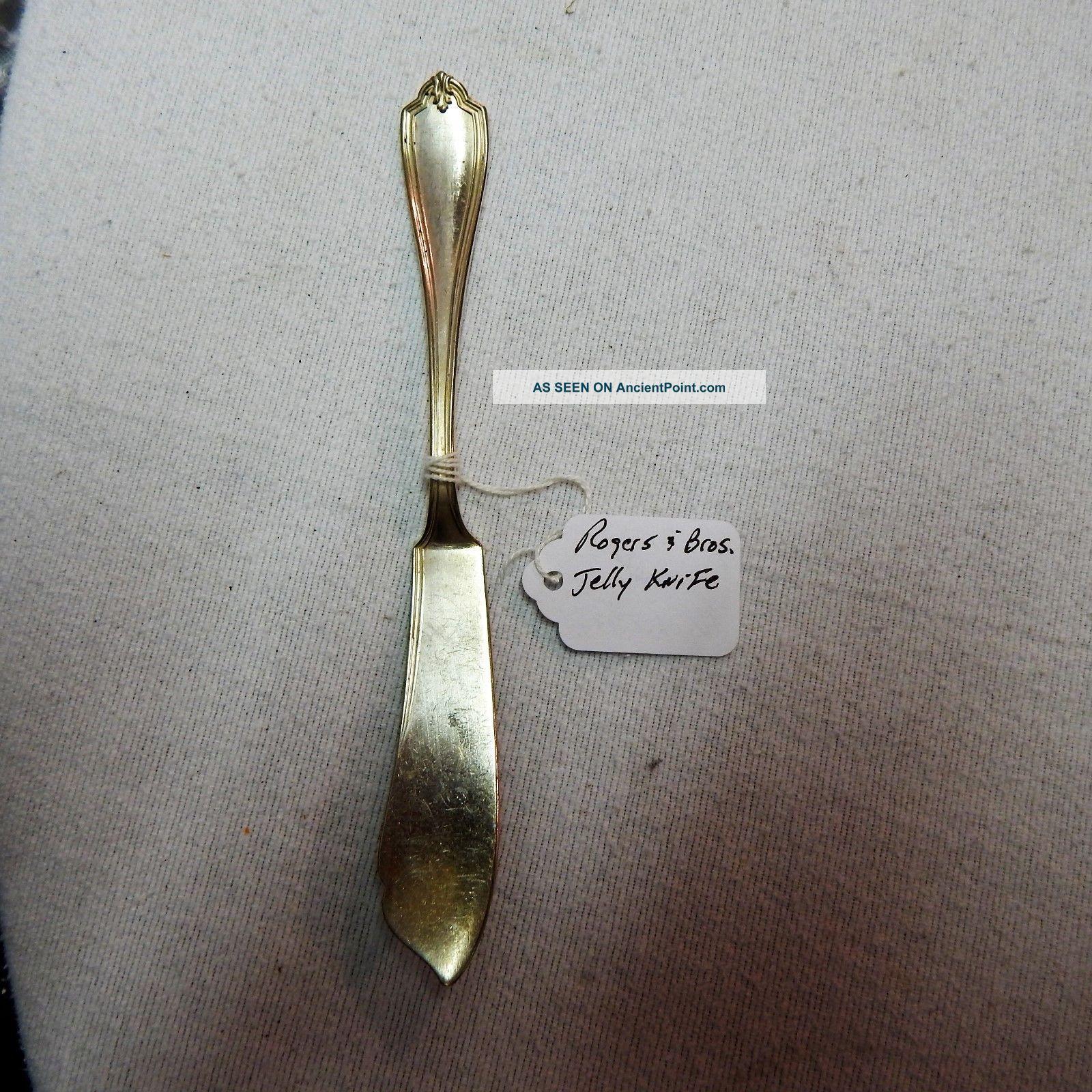 Rogers & Bros.  Jelly Knife Pattern:grecian Circa:1913s. Flatware & Silverware photo