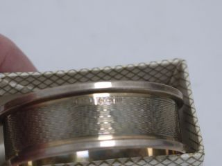Sterling Silver Napkin Ring (sw/ah26) photo