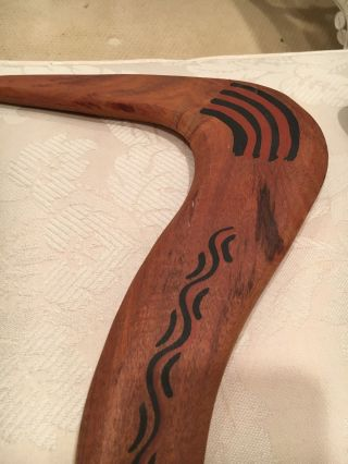 Authentic Boomerangs From Australia And Zealand Tribes photo